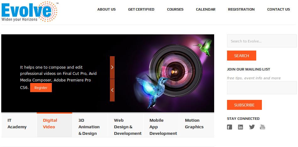 letsevolve homepage