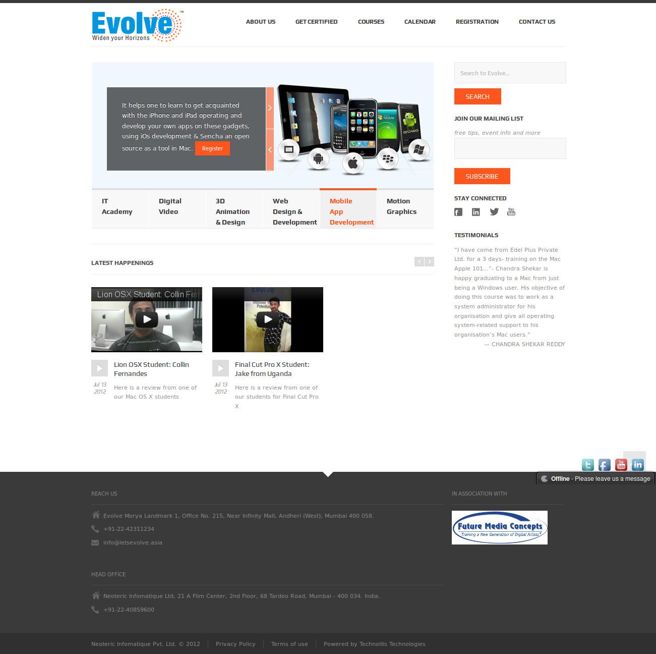 letsevolve full page