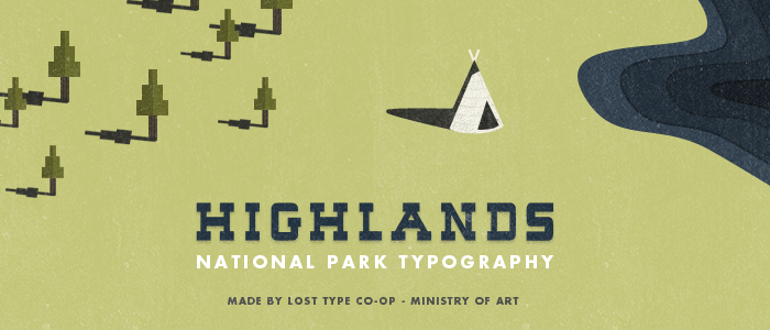 highlnads font