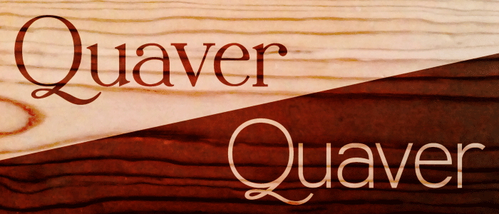 Quaver font