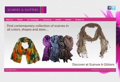 Scarves & Glitters HomePage