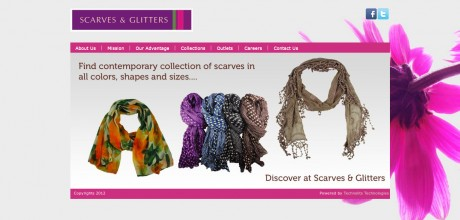 Scarves & Glitters HomePage
